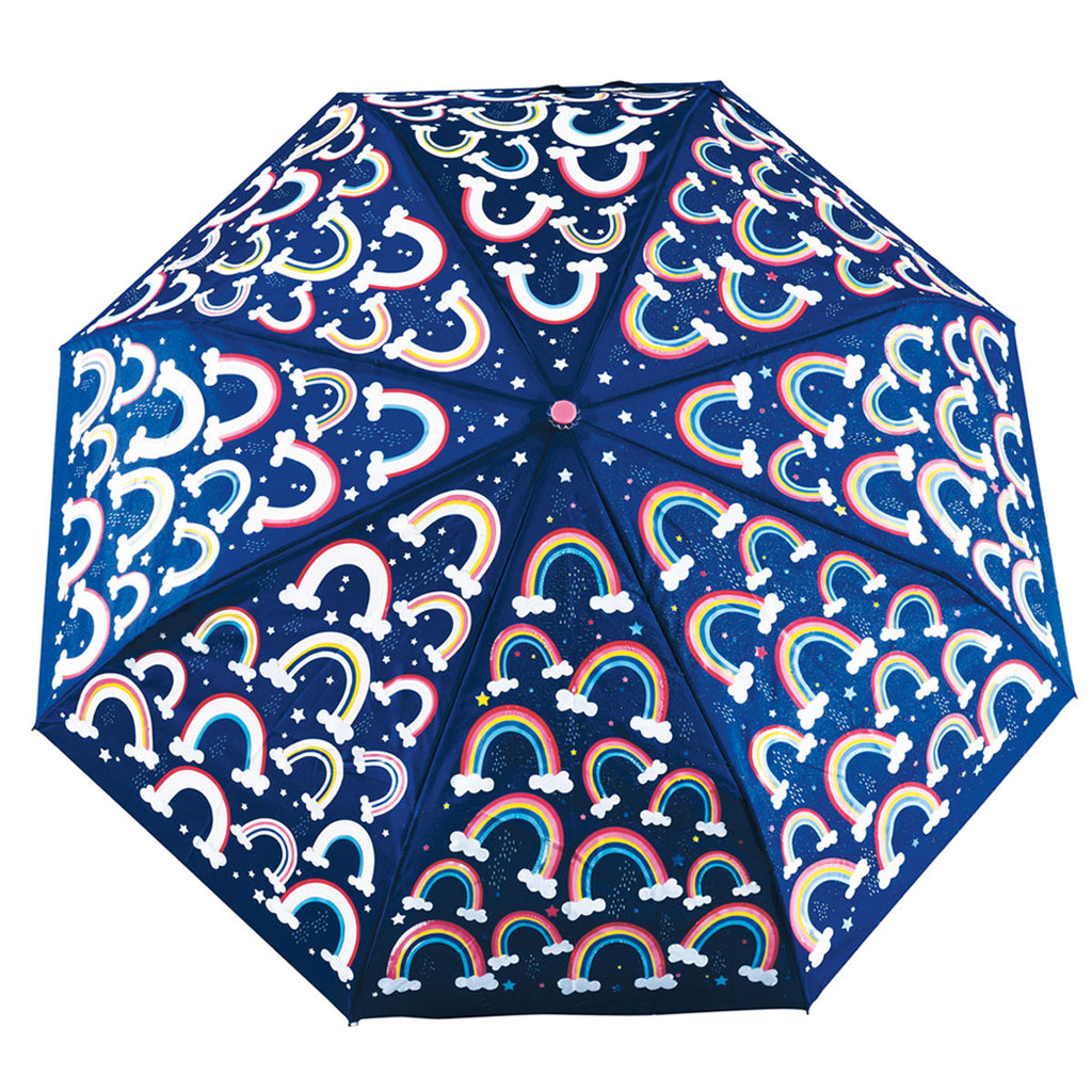 Floss and Rock Colour Changing Big Kids Umbrella - Rainbow