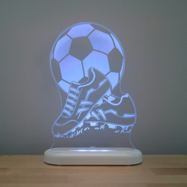 Aloka LED Sleepy Light Soccer Ball and Boot