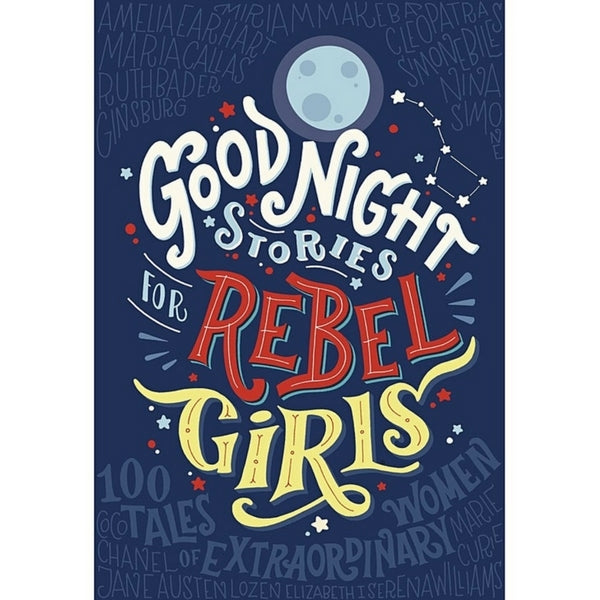 Children's Book  Goodnight Stories For Rebel Girls