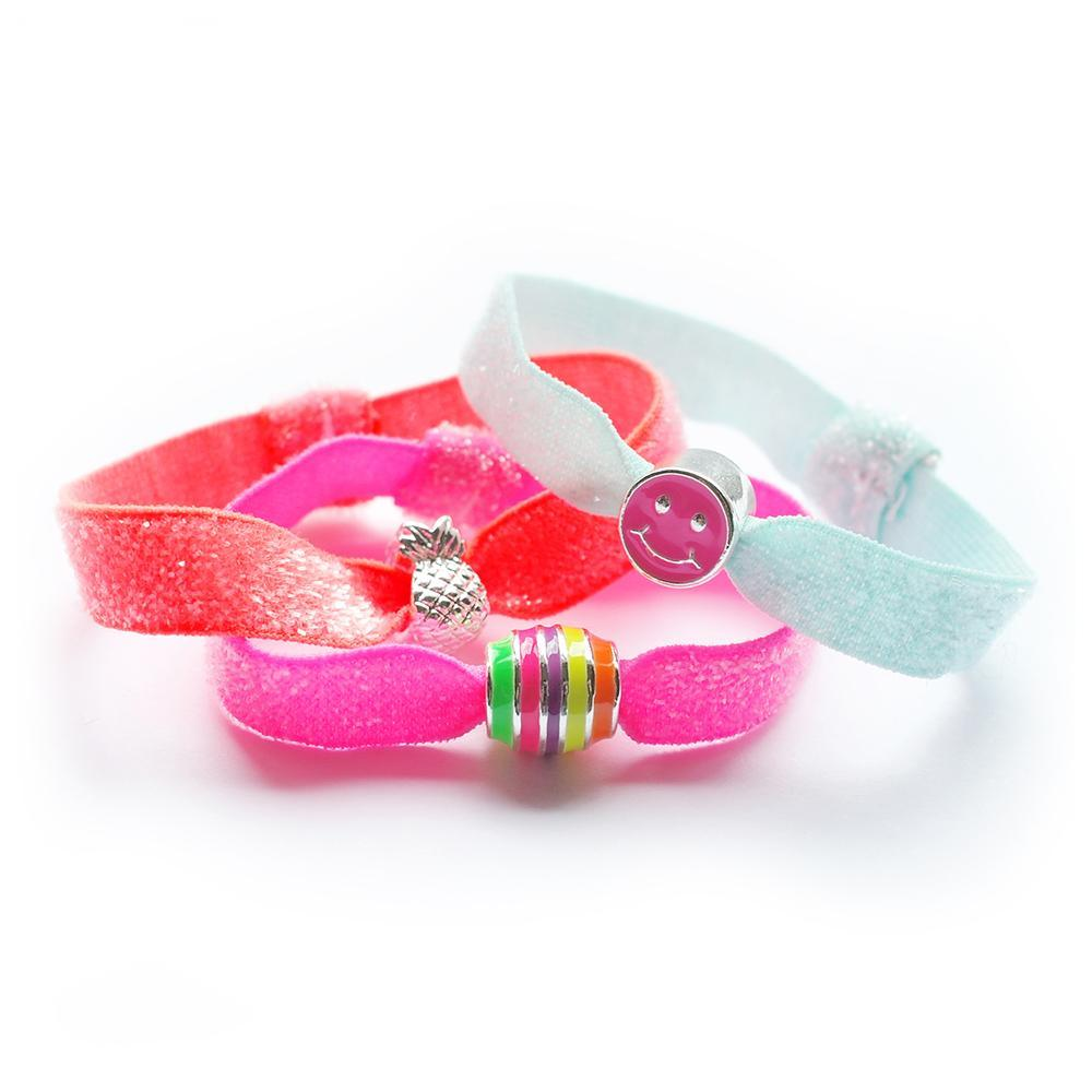 Lauren Hinkley Kids Jewellery & Accessories  Glitter Hair Elastic Set Neon