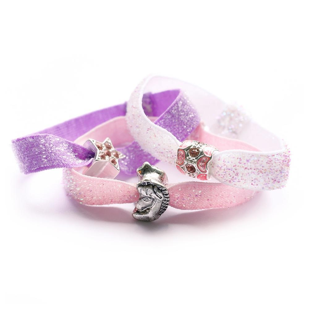 Lauren Hinkley Kids Jewellery & Accessories  Glitter Hair Elastic Set Unicorn