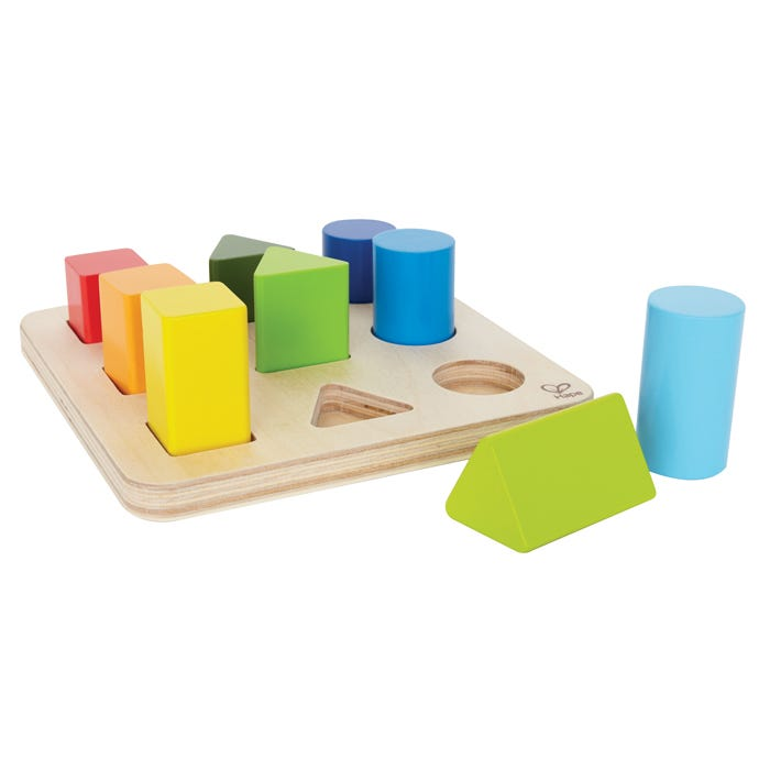 Hape Colour and Shape Sorter 9 Pieces