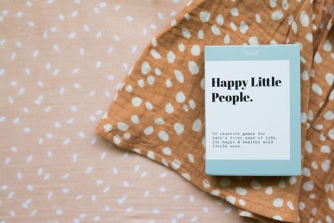 Happy Little People Baby Activity Cards