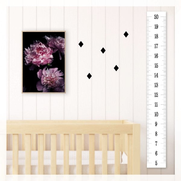 May and Belle Height Chart  Ruler
