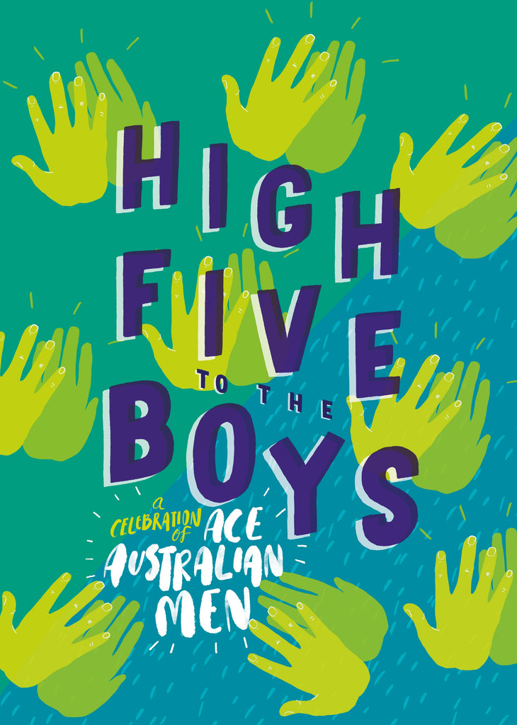 Children's Books - High Five To The Boys