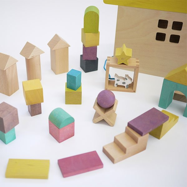 gg* Tsumiki Building Block House