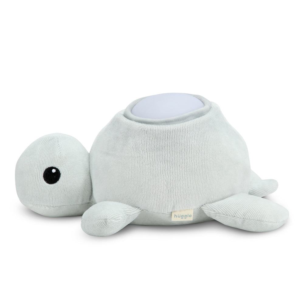 Hugglo Kids Turtle Night Light  Grey