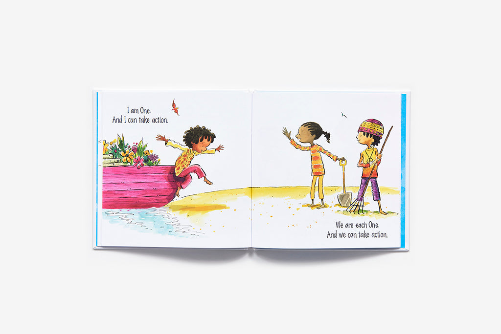Childrens Book - I Am One. A Book of Action