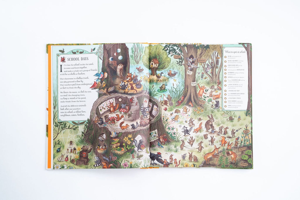Childrens Book - If You Go Down To The Woods Today