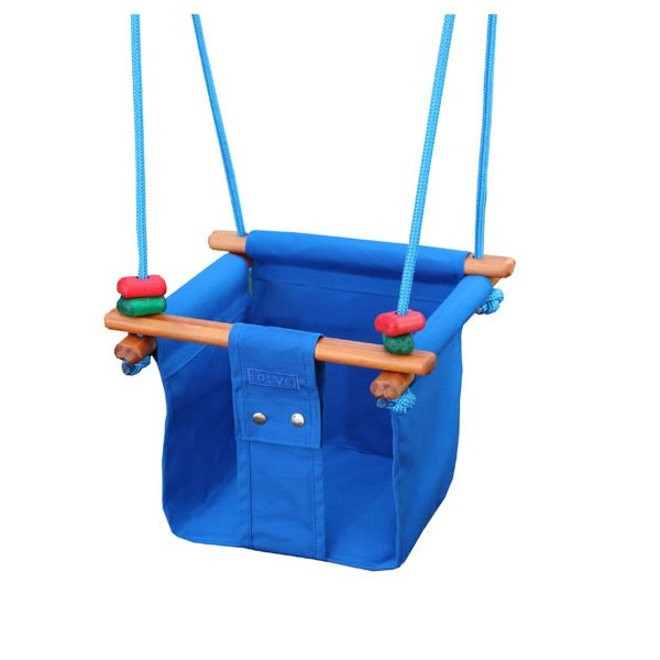 Solvej Baby and Toddler Swing Pacific Blue