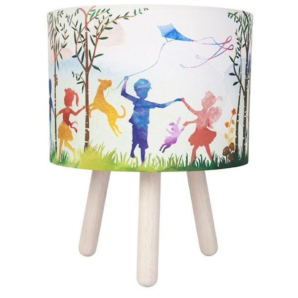 Micky & Stevie Kids Lamp In The Woods White