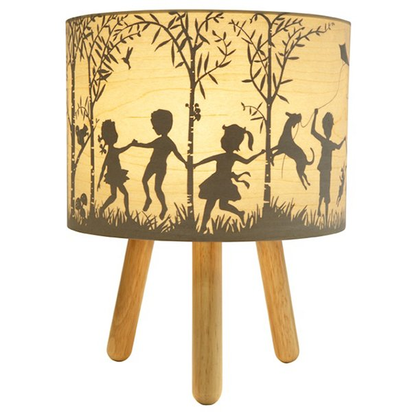 Micky & Stevie Kids Lamp In The Woods