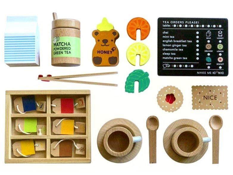 Make Me Iconic Wooden Tea Set Extension Kit