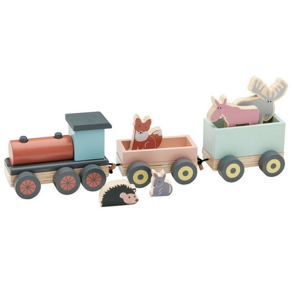 Kids Concept Animal Train Set