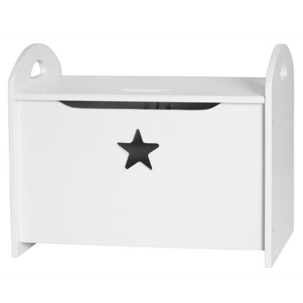Kids Concept Wooden Toy Chest White