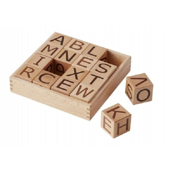 Kids Concept Wooden Blocks Alphabet