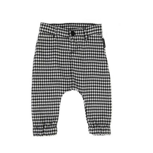 Pants Houndstooth Print