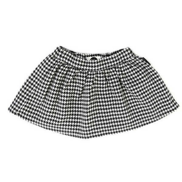 Sproet and Sprout Girls Skirt  Houndstooth Print