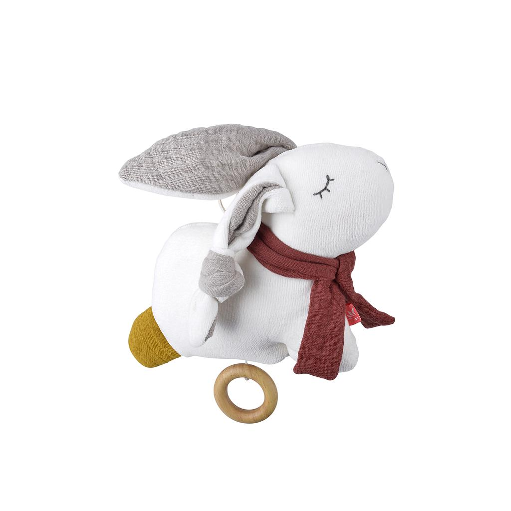 kikadu organic baby musical toy - Rabbit