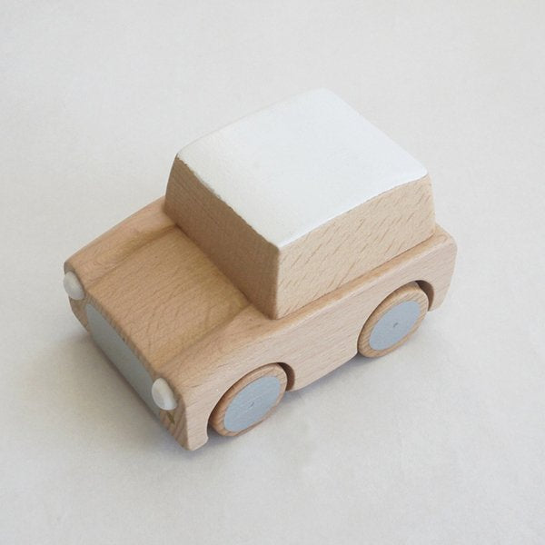 Kiko+ Kuruma Wooden Car Natural