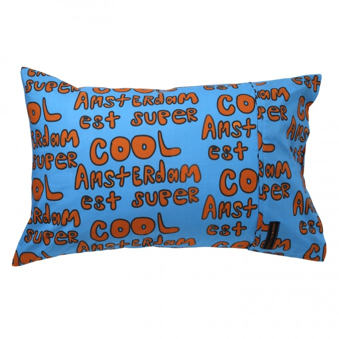 Kip & Co x Hugo Loves Tiki Amsterdam Single Pillowcase