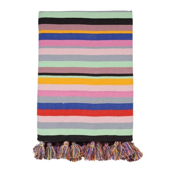 Kip & Co Coloured Alcapulco Tassel Throw