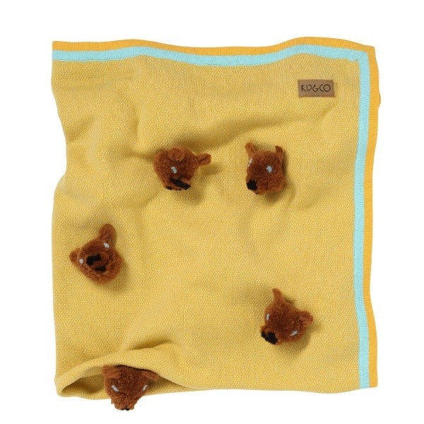 Kip & Co Teddy Bear Blanket