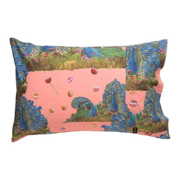 Animalia X Kip & Co Proudest Peacocks Pillowcase