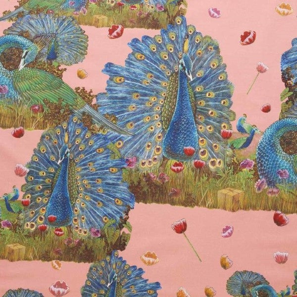 Animalia X Kip&Co Proudest Peacocks Fitted Sheet