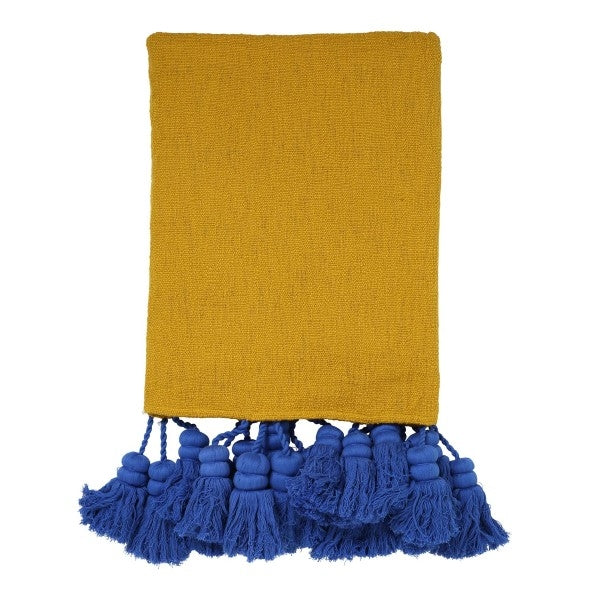 Kip & Co Desert Sky Tassel Throw
