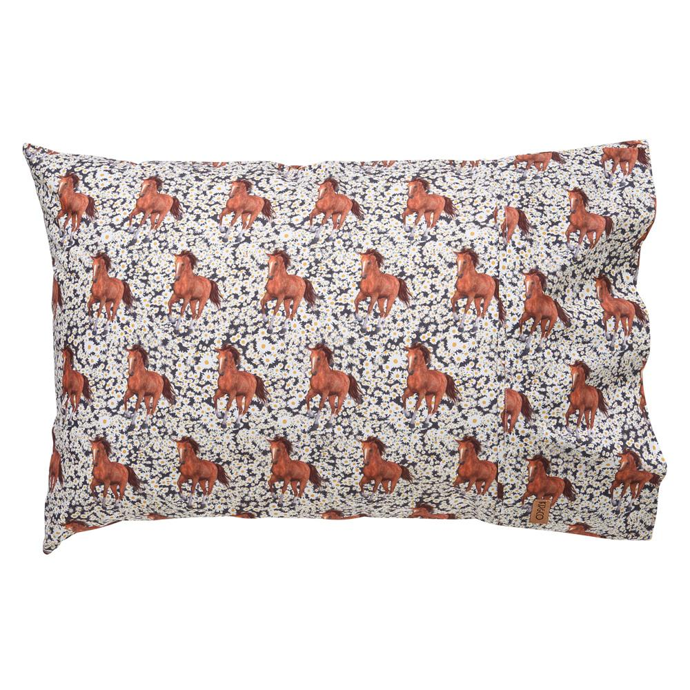 Kip & Co Wild Horses Pillowcase
