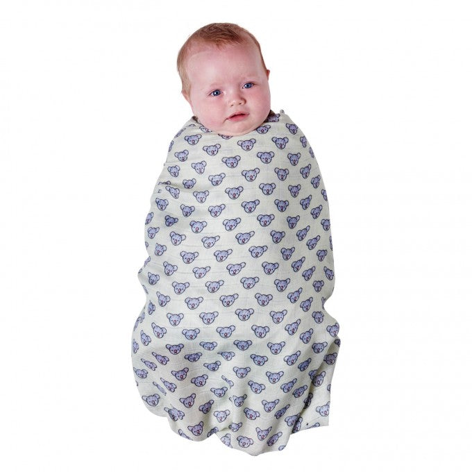 Kip & Co Koala Bamboo Swaddle Wrap
