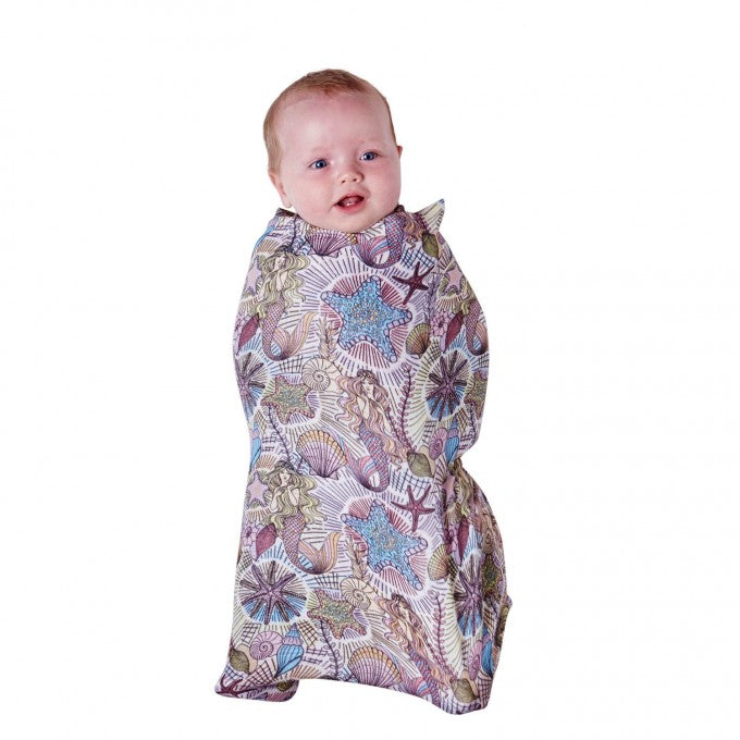 Kip & Co Neptune's Kingdom Bamboo Swaddle Wrap