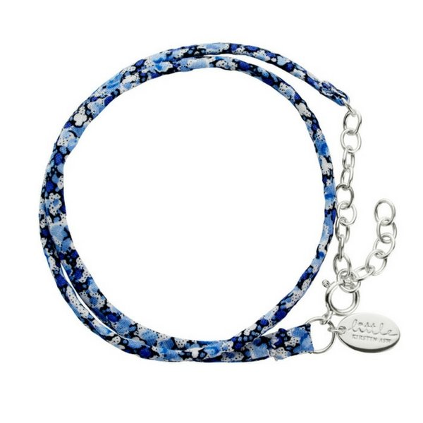Little Kirstin Ash Kids Jewellery Liberty Bracelet  Blue