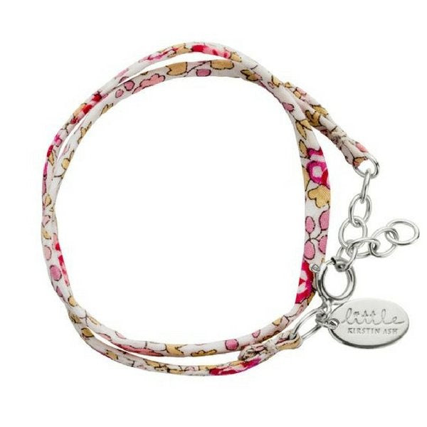 Little Kirstin Ash Kids Jewellery Liberty Bracelet  Pink