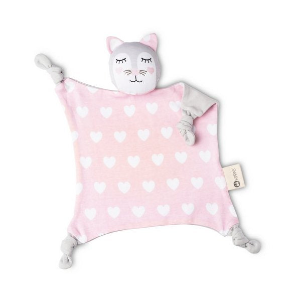 Kippins Baby Toy and Comforter Kitty Kippin