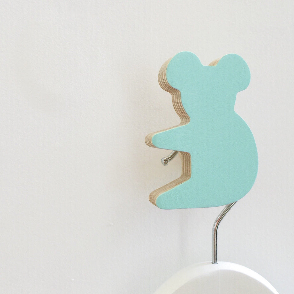 Knobbly Koala Wall Hook - Morning Sky Blue