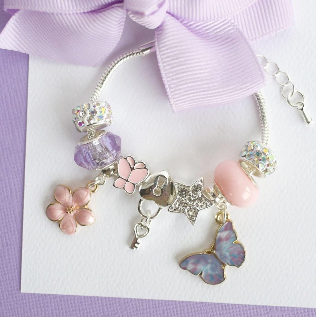 Lauren Hinkley Kids Jewellery - Butterfly Magic Charm Bracelet