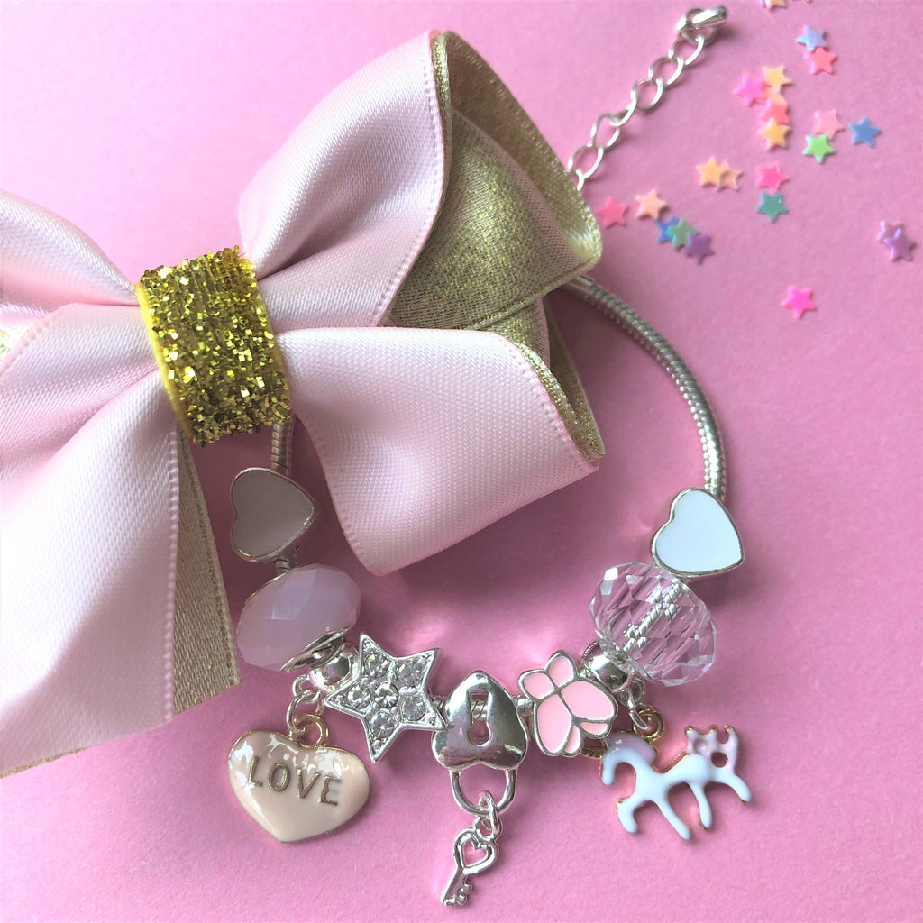 Lauren Hinkley Kids Jewellery - Unicorn Charm Bracelet
