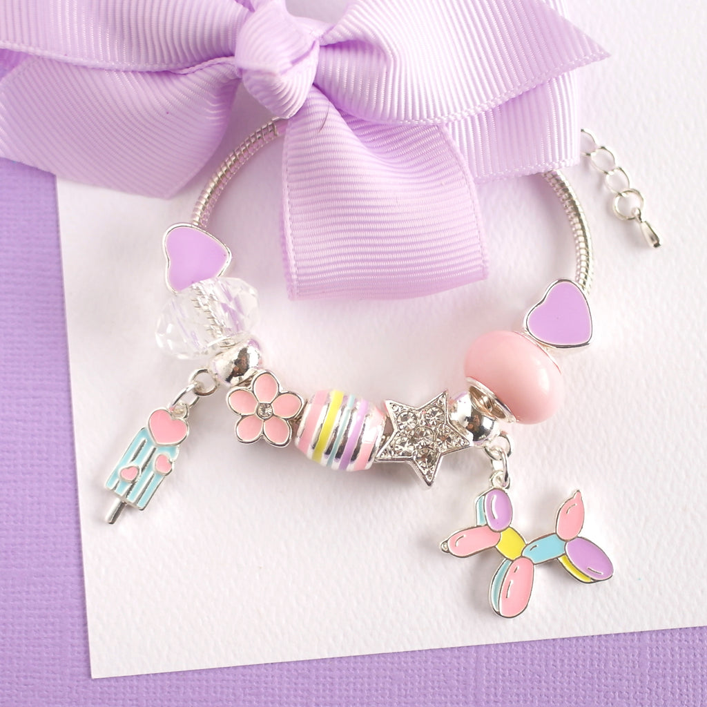 Lauren Hinkley Kids Jewellery - Balloon Dog Charm Bracelet