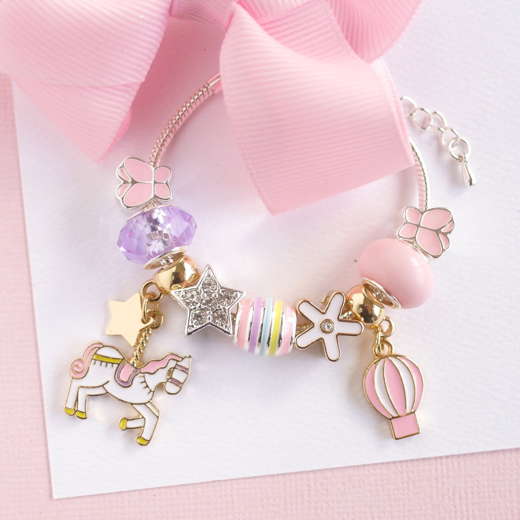 Lauren Hinkley Kids Jewellery - Unicorn Carousel Charm Bracelet