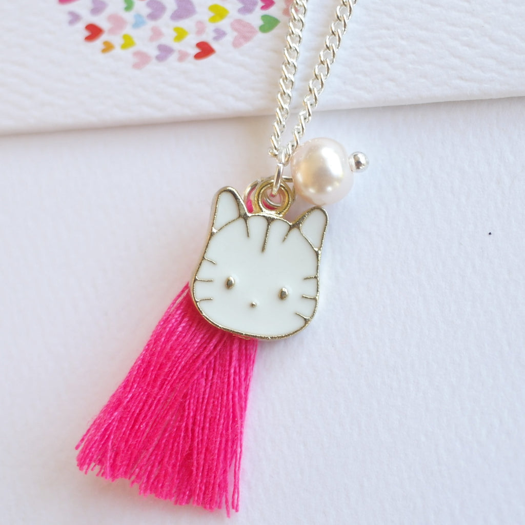 Lauren Hinkley Kids Jewellery - Munchkin Cat Necklace