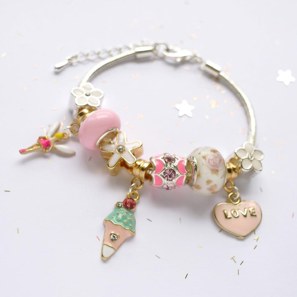 Lauren Hinkley Kids Jewellery - Sugar Plum Fairy Charm Bracelet