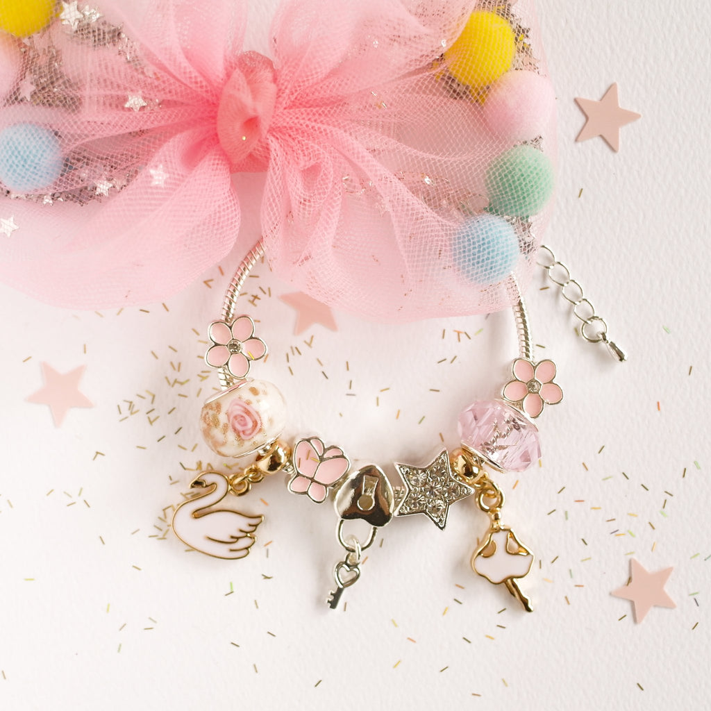 Lauren Hinkley Kids Jewellery - Swan Lake Charm Bracelet