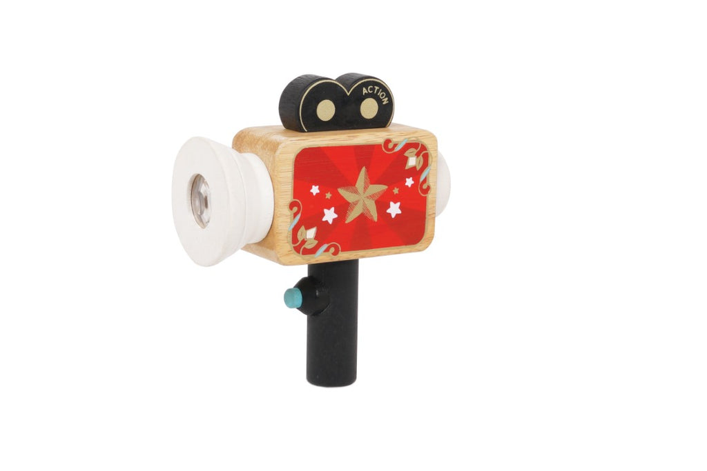 Le Toy Van - Honeybake Vintage Toy Wooden Hollywood Camera