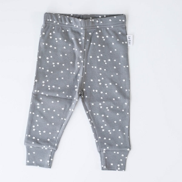 Le Edit Baby Clothes   Organic Star Leggings