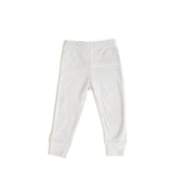 Le Edit Baby Clothes   Organic Striped Leggings