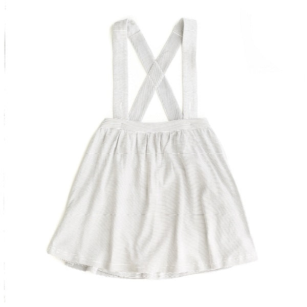 Le Edit Baby Clothes   Stripe Pinafore