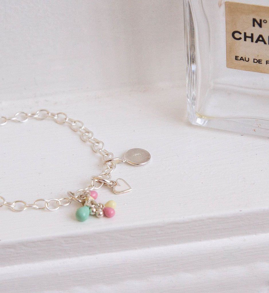 Little Kirstin Ash Kids Jewellery Pastel Droplet Cluster Charm