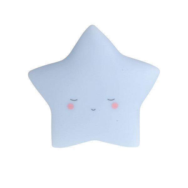 Little Dream Kids Night  Light Star  Blue